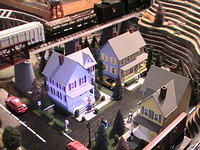 Train Layout, Town Pictures, 03-29-13 015