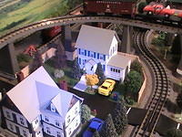 Train Layout, Town Pictures, 03-29-13 016